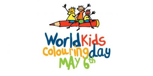 The winners of World Kids Colouring Day